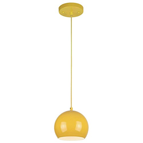 Westinghouse Lighting 6101900 One-Light Indoor Mini, Yellow...