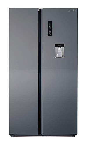 FRIGORIFICO AMERICANO SBS-668W INOX INFINITON (Side by Side, 559 litros, Alto 177cm, INVERTER A++, Independiente)
