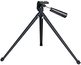 Tabletop Tripod with Mount Adapter Portable Compact Tripod Folded Tripod for Spotting Scopes DLSR Camera Monocular