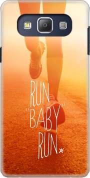 Mobilinnov Custodia Rigida Protezione Case Cover - Run Baby Run - Samsung Galaxy A8 Accessori