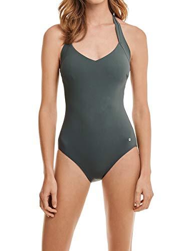 Marc O'Polo Body & Beach Beach W-beachsuit, Costume da bagno Donna, Grigio (701), 3A (Taglia Produttore: 038A)