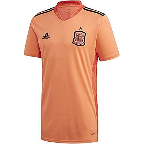 adidas Selección Española Temporada 2020/21 Camiseta Portero, Unisex, Easy Orange, M