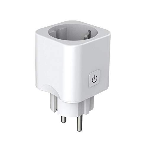 YPASDJH Portátil Smart Plug WiFi Smart Socket EU Plug Ewelink con Alexa Google Home Mini IFTTT Smart Home Mini Enchufe WiFi (Bundle : 1 pc EU Plug)