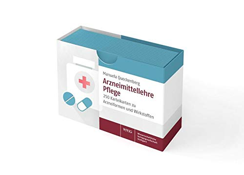 Arzneimittellehre Pflege: 250 Karteikarten zu Arzneiformen und Wirkstoffen