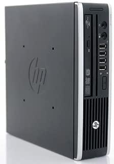 HP Elite 8200 Ultra Slim High Performance Business Desktop Computer (Intel pentium g870 3.1Ghz CPU, 2GB DDR3 RAM, 160GB HDD, dvdrw, Windows 7 Professional) (Renewed)