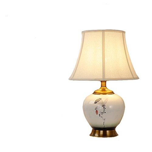 Salon lampe de table en céramique étude chambre lampe de chevet lampe de table en cuivre