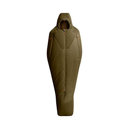 MAMMUT Protect FIBER-18C Saco de Dormir, Adultos Unisex, Olive (Verde), XL