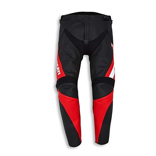 Ducati Speed Evo C1 Lederhose schwarz/rot Größe 58