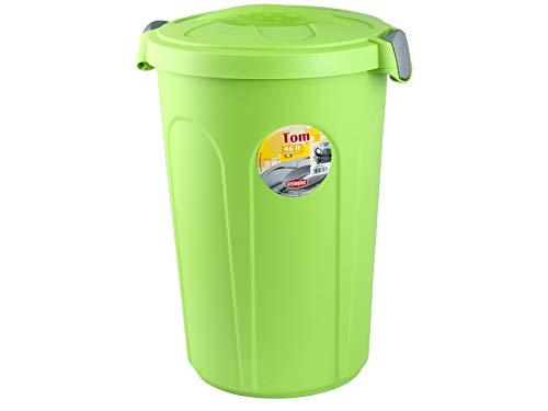 Stefanplast Tom Poubelle avec Couvercle, Plastique, 46 litres