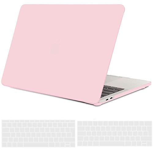 TECOOL Coque MacBook Pro 13 Pouces 2020 Cristal Vert Plastique Rigide Case /Étui et Housse de Clavier Compatible avec MacBook Pro 13 avec Touch Bar et Touch ID Mod/èle: A2289 // A2251