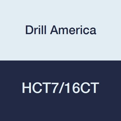 Drill America HCT7 16CT Carbide Reamer 40014 Outlet sale feature 16