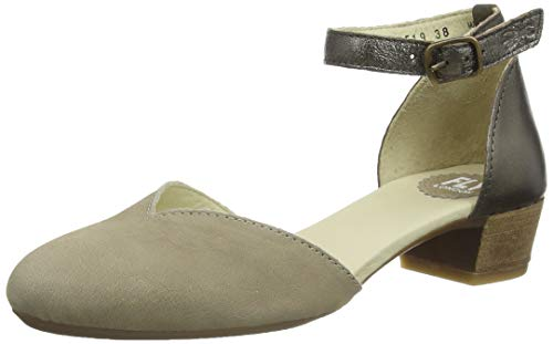 FLY London Logi459fly, Sandalias Punta Cerrada 40 EU