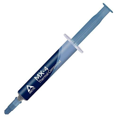 ARCTIC MX-4 (4 g) - Pasta Termoconduttiva per Dispositivi di Raffreddamento, Composto per Dissipatore di Calore con Microparticelle di Carbonio, Facile Applicazione, Lunga Durata