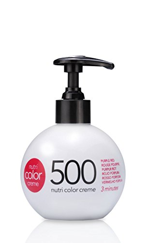 REVLON PROFESSIONAL Nutri Color Creme, Nr.500 Purpur Rot, 1er Pack (1 x 250 ml)