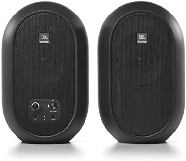 JBL Professional 1 Series 104 BT Compact Desktop Reference Monitors with Bluetooth Black Sold product image