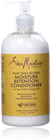 Sheamoisture Restorative Conditioner for Dry, Damaged Hair Raw Shea Butter Silicone Free Conditioner 13 oz