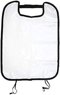 غطاء حماية لمقعد السيارة مضاد لركل الاطفال مصنوع من البلاستيك لون شفاف