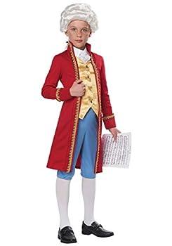 Classical Composer Costume Kids Medium