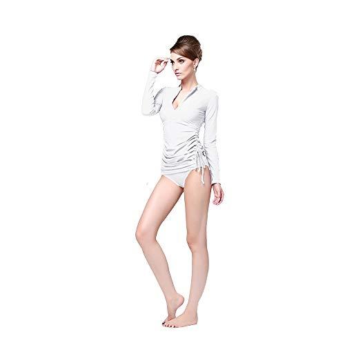 Wetsuits Zonnebrandcrème Shirt met lange mouwen Strand Zonnebrandcrème Split Zwempak Vrouwelijke Jellyfish Duikpak Bikini Conservatief