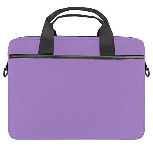 2021 Laptop Bag 51 inch Business Computer Laptop Case Laptop Sleeve Shoulder Messenger Bag Tablet Carrying Case for Women and Men Pure Purple Color