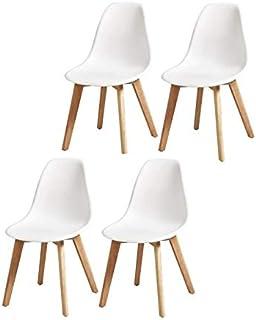 amazone chaise contemporaine pied en forme de u plastique