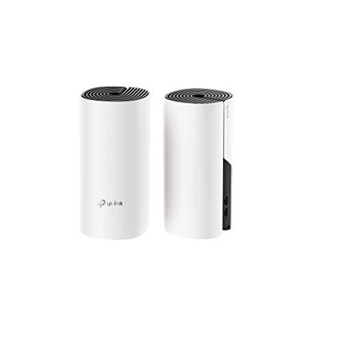 TP-LINK Deco M4 (2-Pack) - Sistema Wi-Fi Mesh para Toda la Casa (AC1200 Banda Dual, 2 Puertos Ethernet Gigabit, MU-MIMO, Funciona con Amazon Alexa e IFTTT)