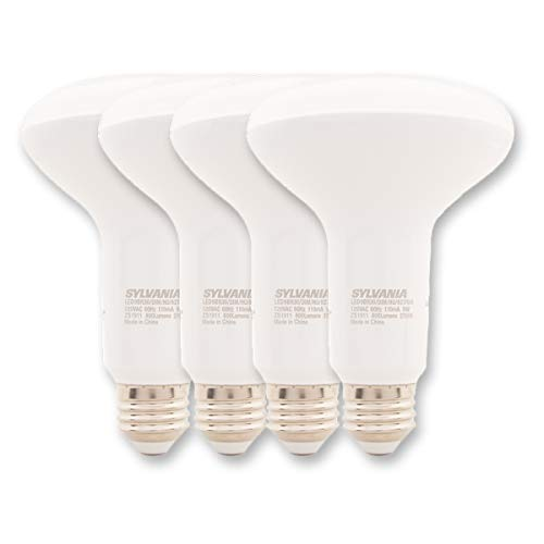 Sylvania (4 Pack) 9W 65W Equivalent LED Flood Light Bulbs Indoor Dimmable Outdoor LED Lights For Bedroom Garage Home