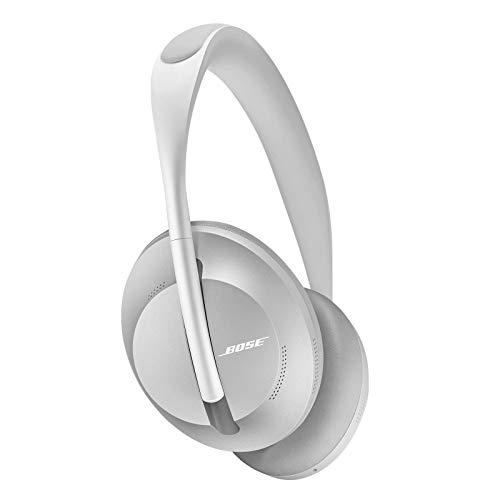 Bose Noise Cancelling Headphones 700: Auriculares Externos Inalámbricos Bluetooth con Micrófono Integrado para Disfrutar de llamadas Claras y Control por Voz de Alexa, Plata