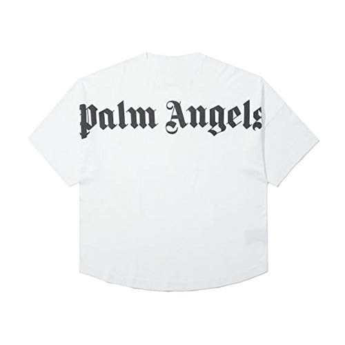 FILWS Sweatshirt Wild Hoodie Palm Angels T-Shirt Bedruckte Fledermausärmel Drop Shoulder Street Kurzarm T-Shirt