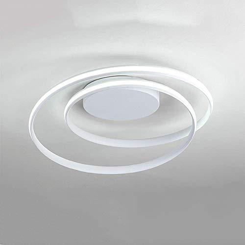 WGFGXQ Lámpara de Techo LED Moderna Estilo de diseño de Anillo Elegante Lámpara de araña Accesorio de iluminación Lámpara Colgante Lámpara de Techo empotrada contemporánea para Sala de Estar Dormit