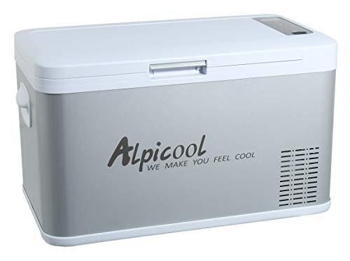 Compass 07081 - Nevera eléctrica con compresor (25 l, 230/24/12 V, -20 °C)