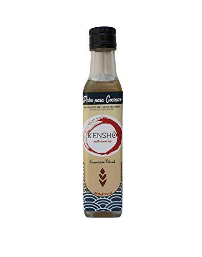Kensho | Sake para Cocinar Junmai 250 ml. | Sin aditivos | Sin Conservantes | Fermentación Natural