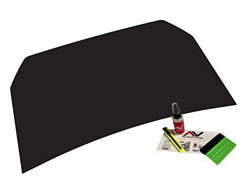 AlphaVinyl FJ Hood Blackout Decal Matte Black Fits: Toyota FJ Cruiser 07+