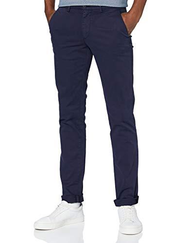 Trussardi Jeans Pantaloni Casual, Navy Blue, 44 Uomo