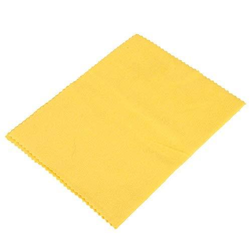 Betued polijstdoek, horloge zilver goud schoonmaken tool, sieraad vierkante vorm poetsdoek, bescherming tegen aanslag, draagbaar vuilafstotend doek