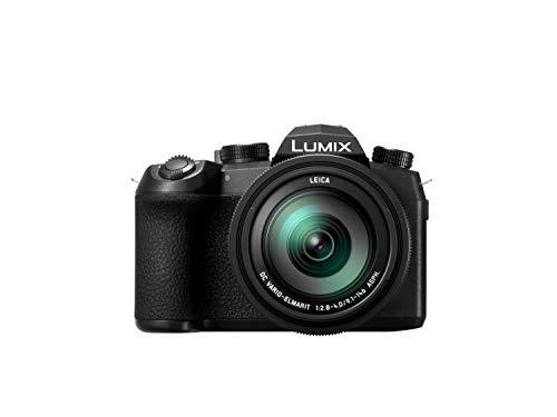 "Panasonic Lumix DC-FZ1000 II – Fotocamera Bridge da 20,1 MP, sensore 1"", 12 fps, Zoom 16X, obiettivo F2.8-F4 da 25 – 400 mm, 4K, Wi-Fi, Bluetooth), colore: nero"