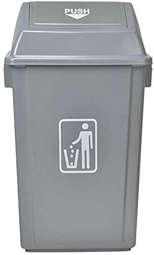 DZCGTP Juego Combinado de Botes de Basura Papelera de Reciclaje de residuos Bote de Basura de Gran Capacidad para Exteriores Centro Comercial Hotel Comunidad Oficina Clasificación Basura