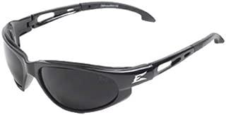 Edge Eyewear TSM216 Dakura Polarized Safety Glasses, Black with Smoke Lens