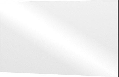 Germania Spiegel 2345-58, rahmenloser Spiegel auf Trägerplatte in Anthrazit, 110 x 60 x 3 cm (BxHxT)