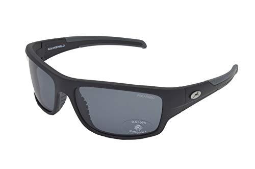 Gamswild Sonnenbrille WS6034 Sportbrille Fahrradbrille Skibrille Damen Herren Unisex Glasfarbe   grün-türkis   blau   grau, Farbe: Grau