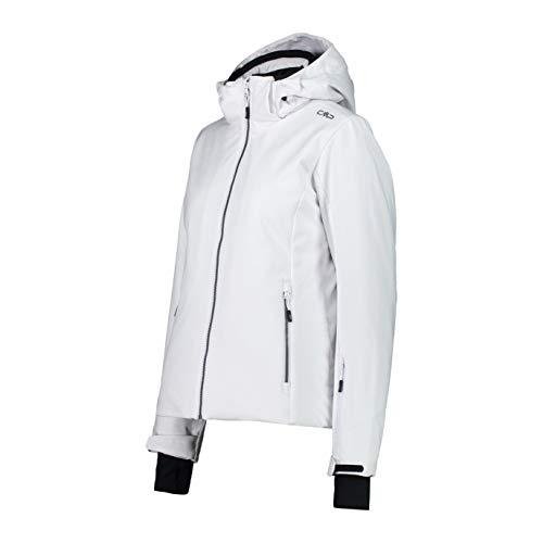 CMP Skijacke aus Stretch Softshell, weiß (Weiß), 34 (XXS)