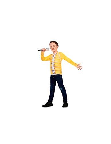 DISBACANAL Camiseta Freddie Mercury Infantil - -, 8-10 años