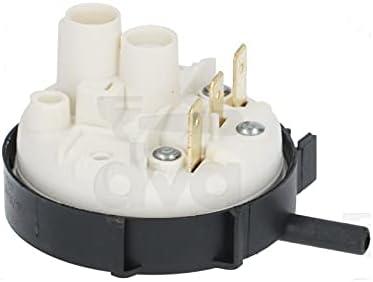 Presostato 55/30 MBAR 250 V 16 A 1 nivel, temperatura de uso máx. 85 °C, para lavavajillas chiskoit OE814