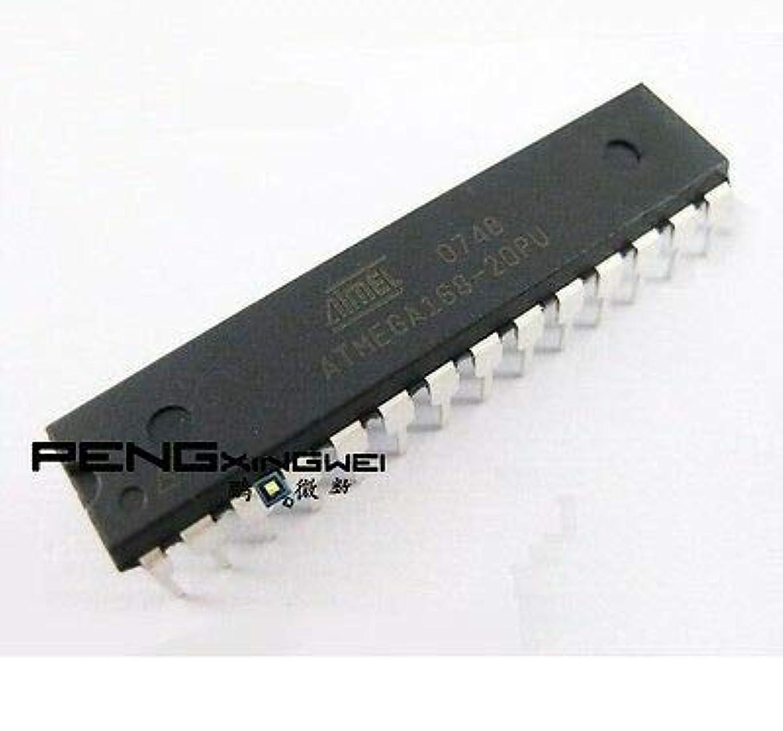 FidgetGear 5PCS ATMEGA168 ATMEGA168-20PU DIP28 ATMEL IC MCU 8ビット16KBフラッシュ新しいS3
