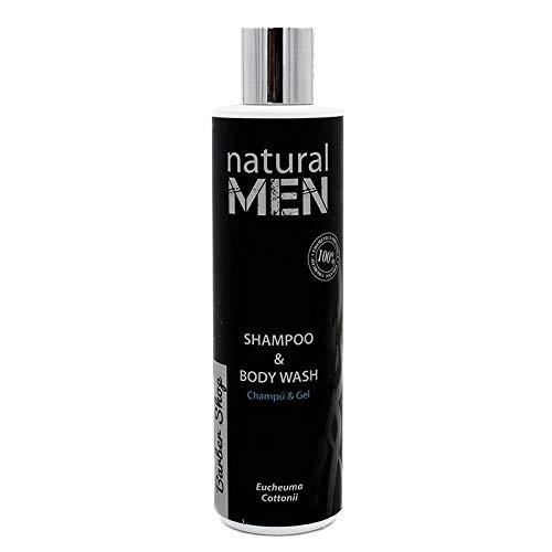 Natural Men Shampooing et Gel de douche – 250 ml