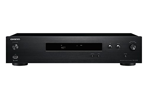 Onkyo NS-6130 Netzwerk-Audio-Player (22 Watt, Hi-Res Audio, WLAN, AirPlay, Musik Apps wie Spotify u.a., integrierte Chromecast-Technologie, FlareConnect) Schwarz
