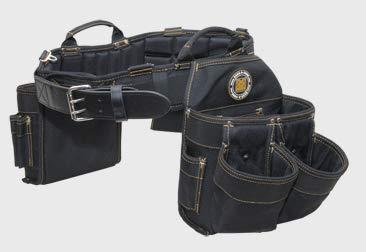 tool bag with belts Rack-A-Tiers 43245 Tool Belt/Electrician Bag Combo, XXL
