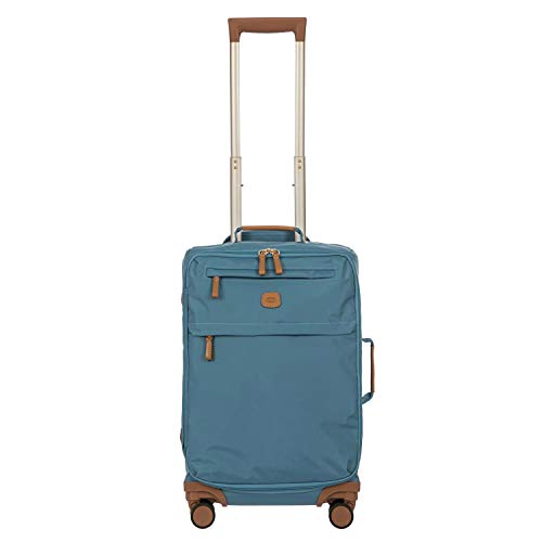 Maleta Suave de Mano con Trolley X-Travel, Talla única, 007-Grey Blue