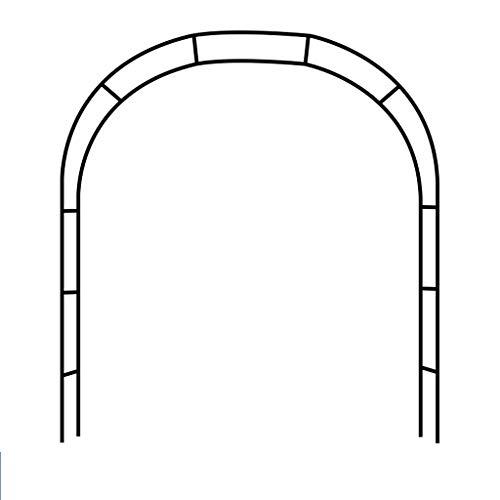 ARCH WRJ@ Gartenbogen,Rosenturm Rankhilfe Rankgitter Rosensäule Metall Pergola Obelisk Säule 185cm