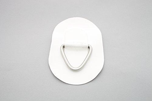 D-Ring für Schlauchboote (grau), Beschlag zum Aufkleben aus Valmex Bengar DR-02